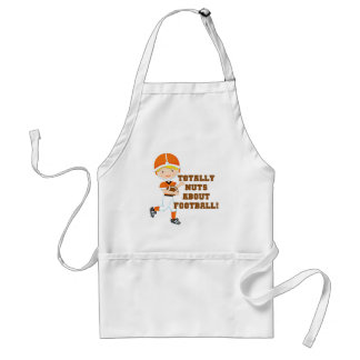Totally Nuts About Football Apron