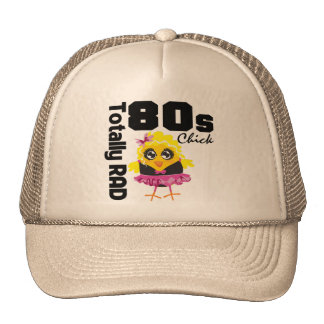 Totally RAD 80s Chick Hat