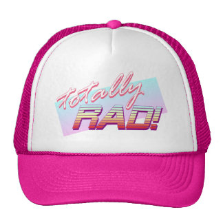 Totally RAD! Trucker Hat