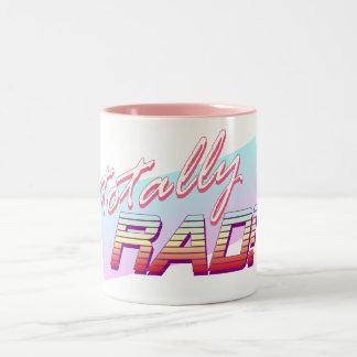 Totally RAD! Two-Tone Mug