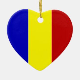 Totally Romanian Flag! Christmas Ornament