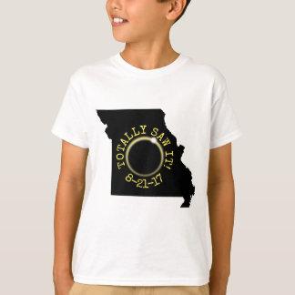 Totally Saw It Total Solar Eclipse Missouri 2017 T-Shirt