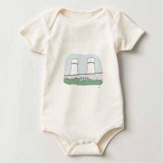 Totally Sheffield - Tinsley Towers Baby Bodysuit