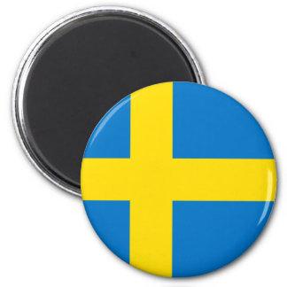 Totally Swedish Flag Magnet