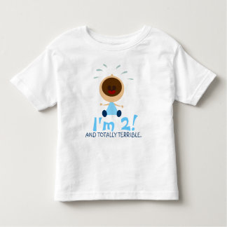 Totally Terrible Twos T-Shirt for Toddlers