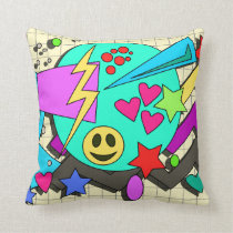 Totally Toon Nineties Cushion