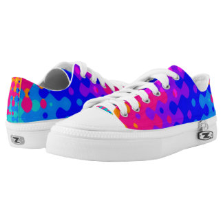 Totally Trippy Hippy Pattern Shoes