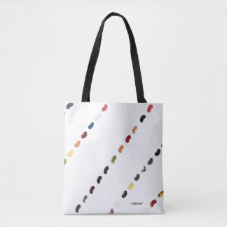 "Tote, All-Over with ""Jellybeans"" by ALarsenArtist Tote Bag"