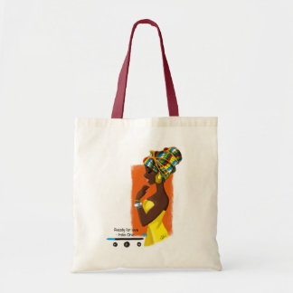 Tote Bag African Queen
