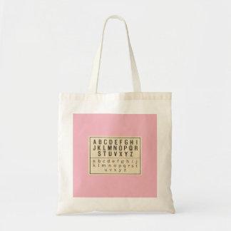 Tote Bag ALPHABET ILLUSTRATION
