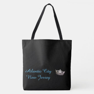 Tote Bag-Atlantic City Miss America Style Crown