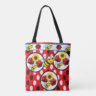 tote bag bumblebee