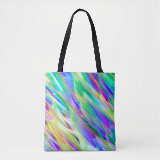Tote Bag Colorful digital art splashing