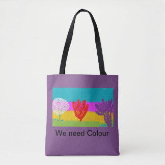 Tote bag..colourful design