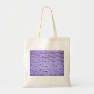 Tote bag crocheted stitched