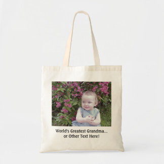 *TOTE BAG: Customise that perfect gift! Budget Tote Bag
