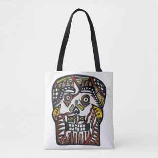 Tote Bag Dia de los Muertos Skull