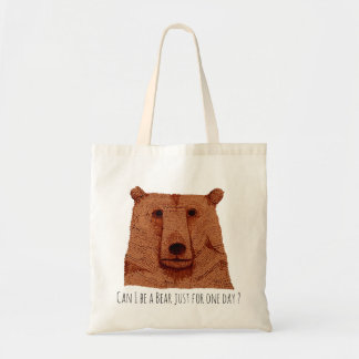 Tote bag: Does edge I Be have bear just for one