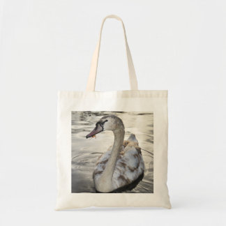 Tote Bag featuring beautiful Swan