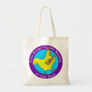 Tote Bag Free Range Ukulele Society Budget Tote Bag