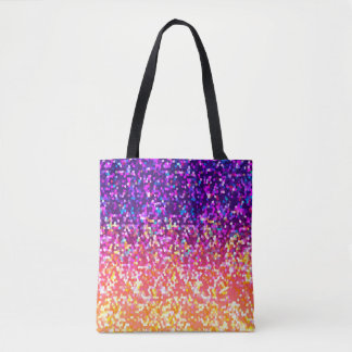 Tote Bag Glitter Graphic