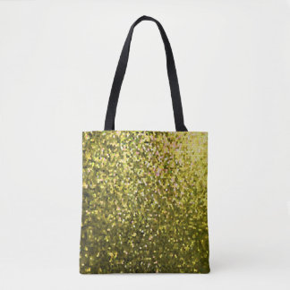 Tote Bag Gold Mosaic Sparkley Texture