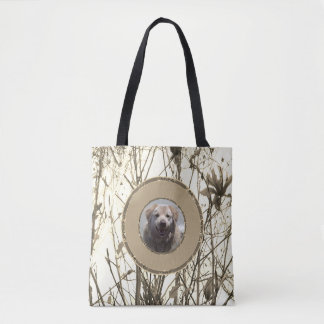 Tote bag Golden Retriever custom