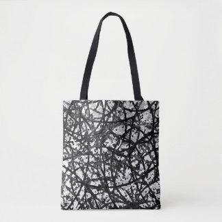 Tote Bag Grunge Art Abstract