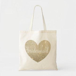 Tote Bag | Heart Fab Bridesmaid - See Description