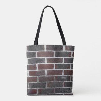 Tote bag in brickwork