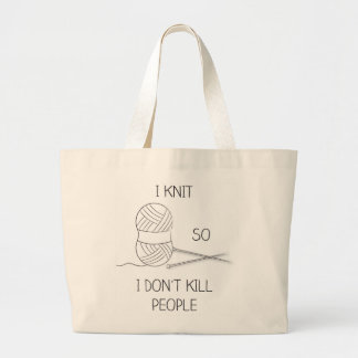 tote bag knitting XL