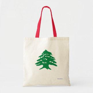tote bag - Lebanese cedar