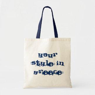 Tote bag made of 100% natural material