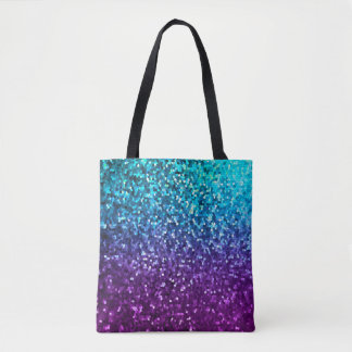 Tote Bag Mosaic Sparkley Texture