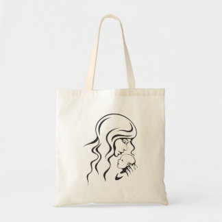 Tote bag: Mother and newborn baby Budget Tote Bag
