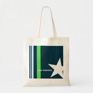 Tote Bag with a Positive Message