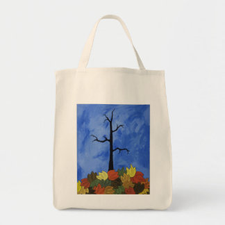 Tote Bag with Autum Fall Tree