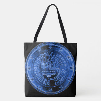 Tote Bag with Germany Anniversary EUR Coin 2015
