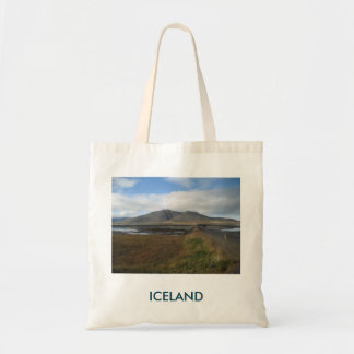 Tote Bag With Hills Picture (In Iceland)