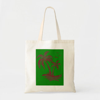 Tote Bag with Palm Trees