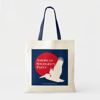 Tote Bag with Red & White ASP Logo