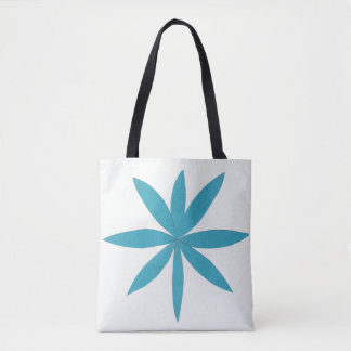Tote Bag with Turquoise Star