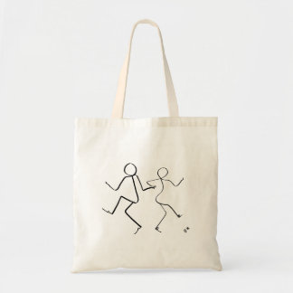 Tote bag with two Lindyhop dancers