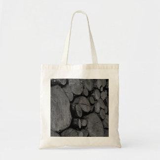 Tote Bag - Wood Logs
