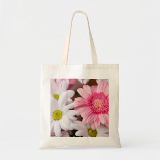 Tote Bags - Daisy Gerbera flowers