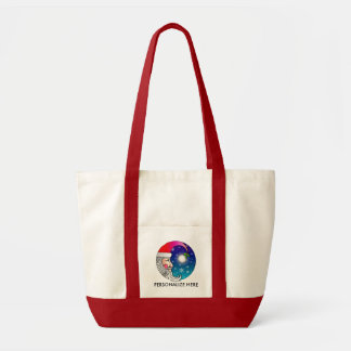 Tote Bags - Santa Moon