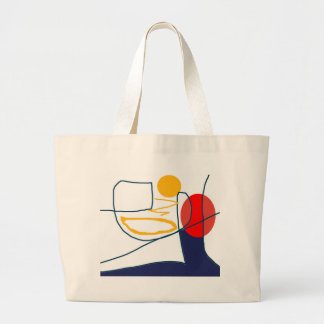 Tote Bags Shopping Bags with Original Abstract Art