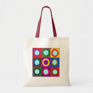 TOTE BAGS SMALL DIY rounds dots Treasure Colorful
