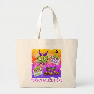 Tote Bags - TrickOrTreatBoogyman