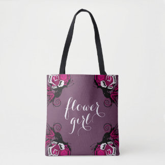 Tote for the Flower Girl 001